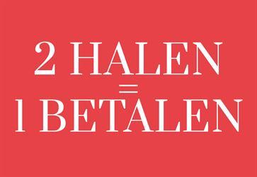 2 HALEN, 1 BETALEN bij Roetgerink