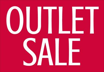 4-DAAGSE OUTLET SALE in ENTER