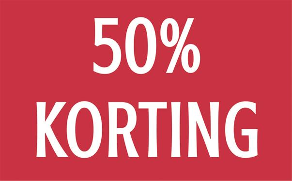 EXTRA KORTING in ENTER