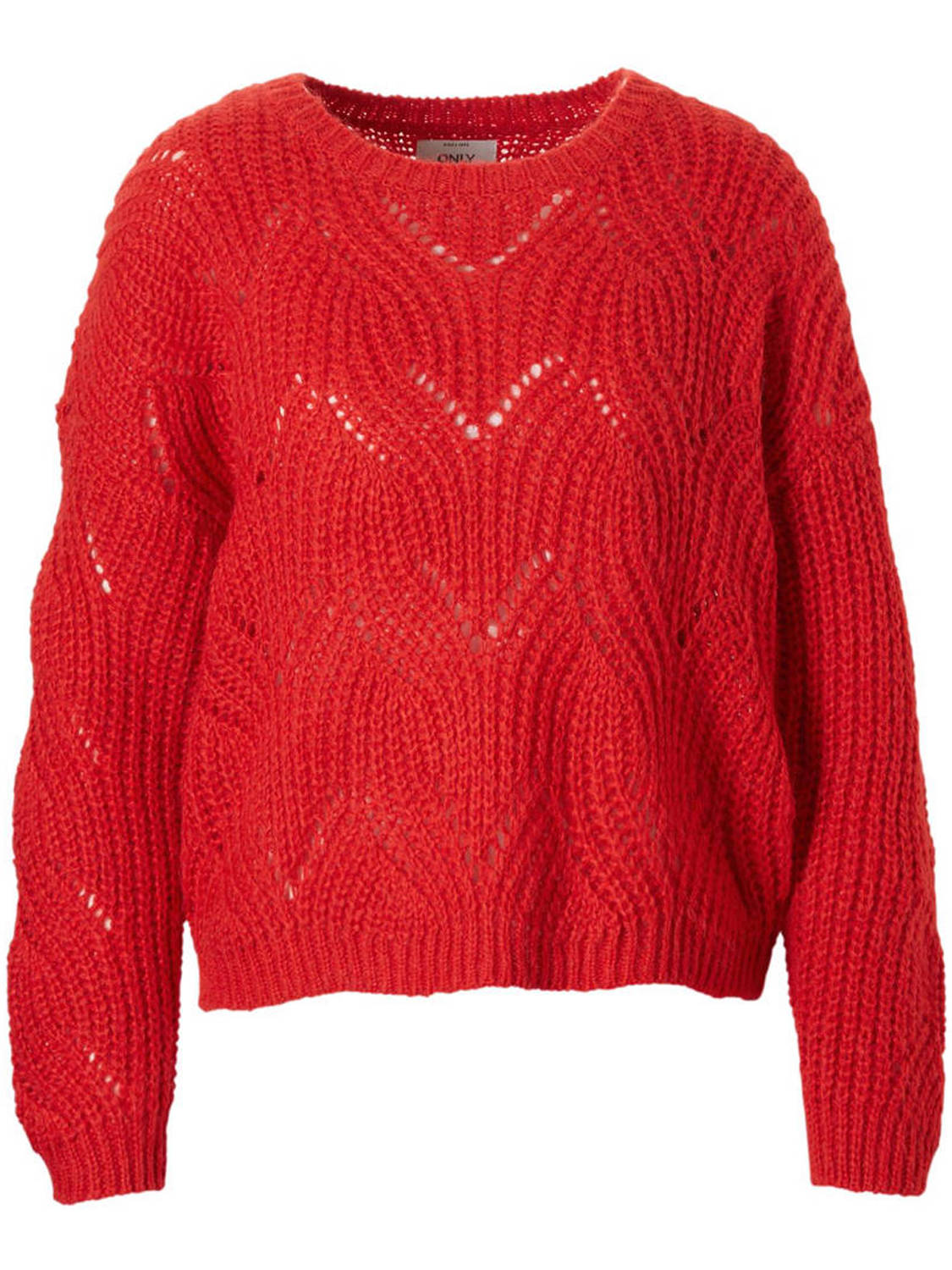 Trui Only  Onlhavana l/s pullover knt noos goji berry