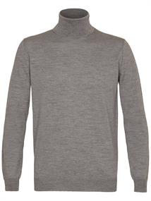 Profuomo PULLOVER ROLL-NECK GREY