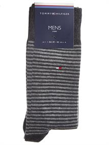 Tommy Hilfiger TH MEN SMALL STRIPE SOCK 2P