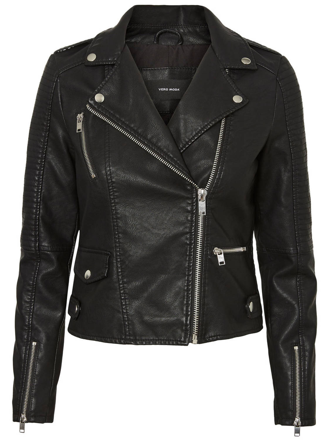 Vero Moda Vero Moda Bikerjack VmApril Short Faux Leather Jacket Noos 10193735
