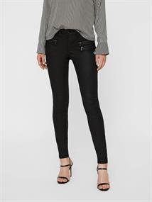 Vero Moda Jeans VMSeven MR Slim Coated Zipper Pant 10201983
