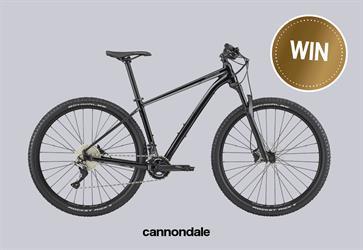WIN! Een Cannondale Trail 3 Mountainbike